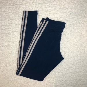 ADIDAS 3 STRIPE LEGGINGS -XS